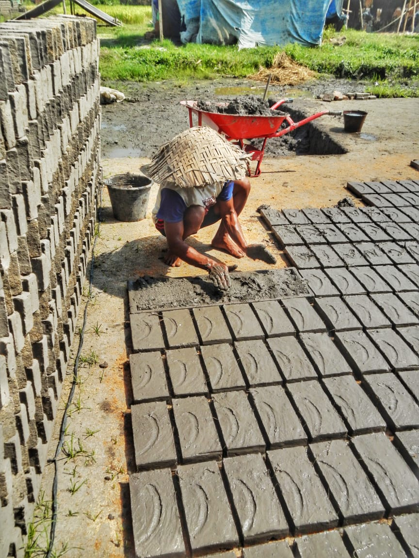Brick Maker,Jogja Cycling tour